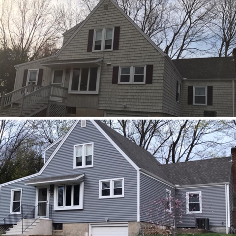 Exterior Remodeling CT - Siding Company & Replacement Windows Connecticut - Nu-Face Home Improvements