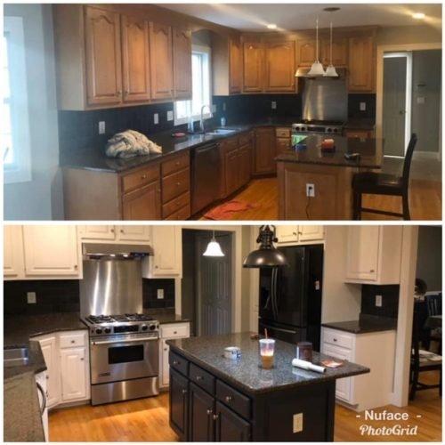 Cabinet Refacing Connecticut - Kitchen Remodel - Nu-Face Home Improvement