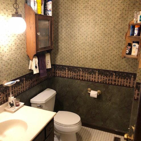 Before - bathroom Remodel - Nu Face Home Improvement